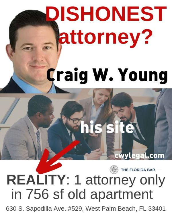 Craig W Young attorney